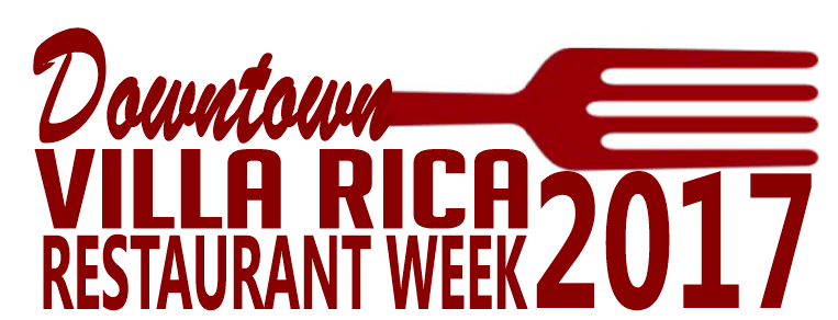 Downtown Villa Rica Restaurant Week 2017