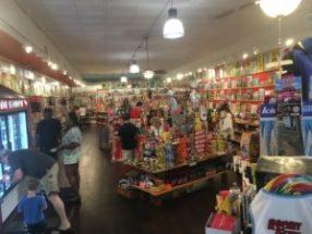 Inside of RocketFizz store on Mariettta Square