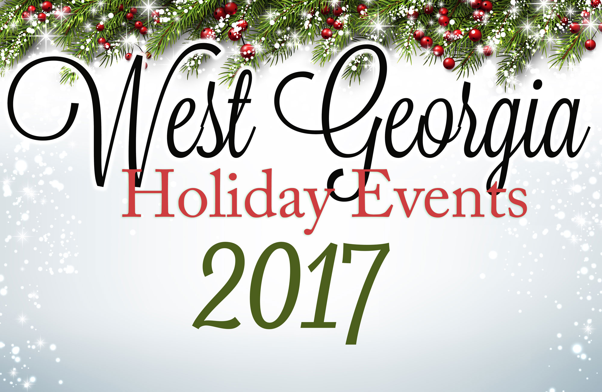 West Georgia Holiday Events 2017 - News & Views