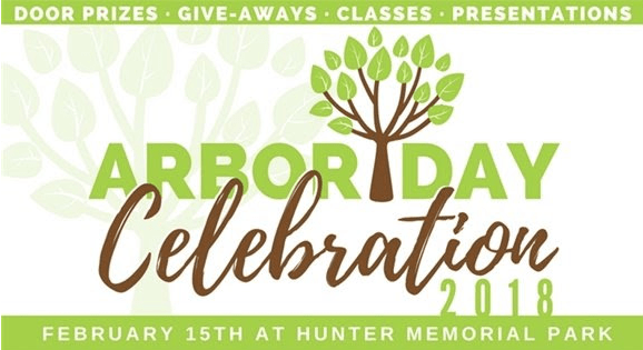 Arbor Day Celebration at Hunter Memorial Park