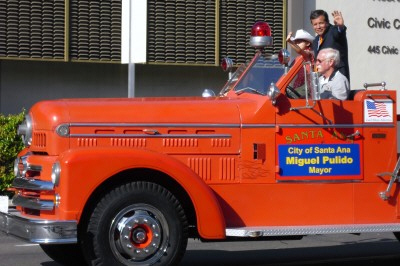 Mayor Pulido, Fire Truck