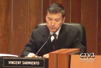 Council Member Vincent Sarmiento