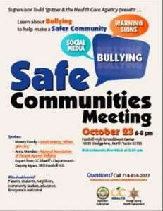Safe Communities Meeting