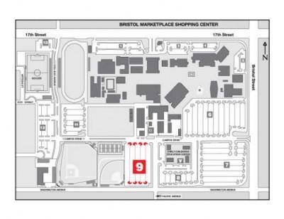 Santa Ana College Map