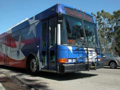 OCTA Santa Ana bus