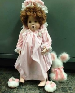 creepy San Clemente Porcelain Doll 2