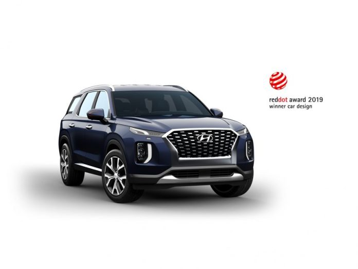 Hyundai-Palisade-wins-Red-Dot-award