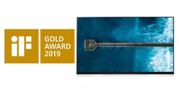 LG-OLED-TV-wins-iF-award