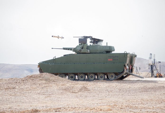 Hanwha-Redback-succeeds-in-systems-integration-of-Israeli-weapons
