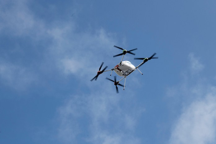Samsung-launches-drone-delivery-service