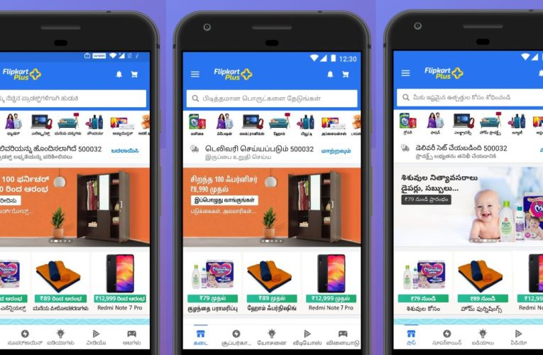 Flipkart Now Supports Kannada, Tamil, Telugu Languages to Reach New Customers