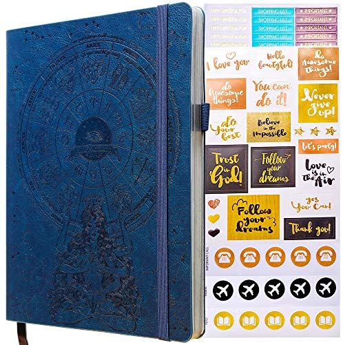 Law of Attraction Planner – 2021 Deluxe Weekly & Monthly Life Planner to Achieve Your Goals. A 12 Month Journey to Increase Productivity, Passion & Happiness -Organizer & Gratitude Journal + Stickers