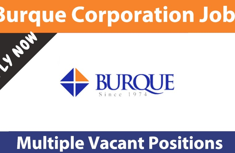 Burque Corporation Pvt Ltd Jobs April 2021