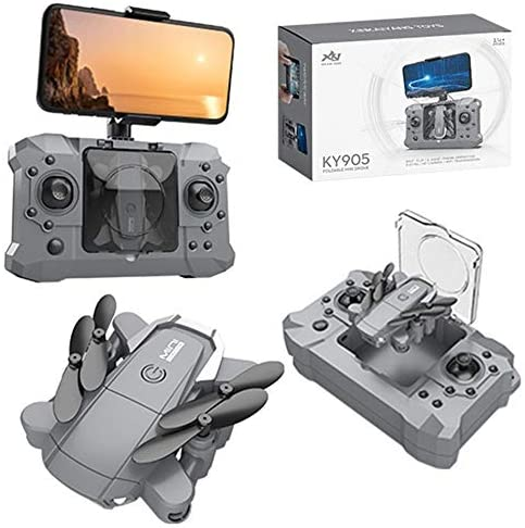 Drone with 1080P HD Camera for Adults and Kids, Foldable Quadcopter with Wide Angle FPV Live Video, Trajectory Flight, App Control,Optical Flow, Altitude Hold