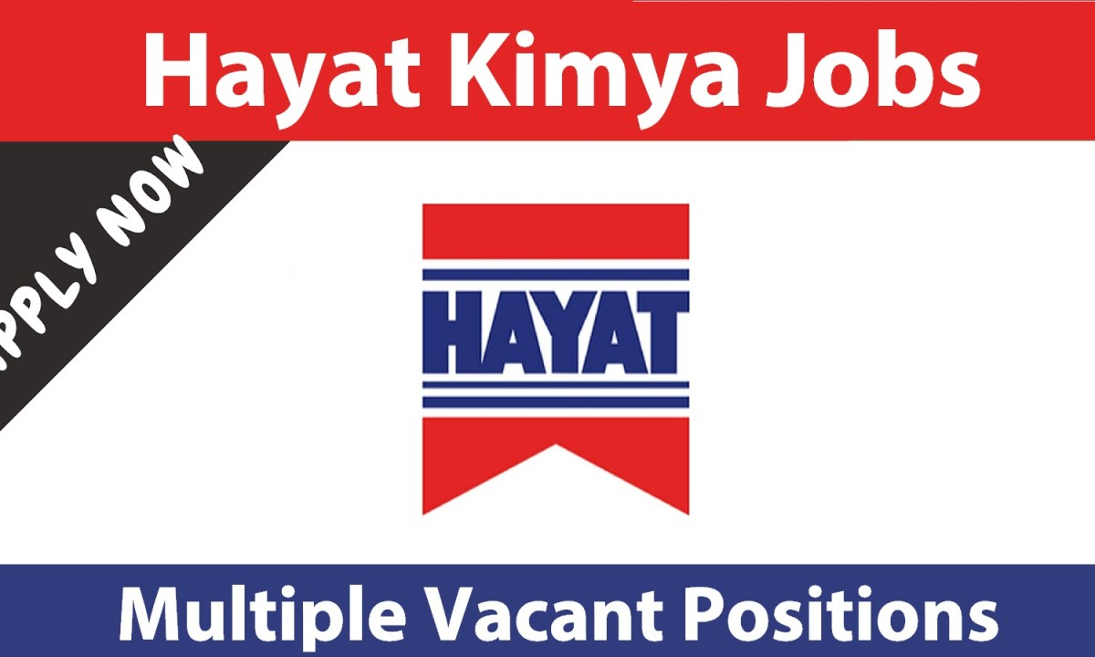 Hayat Kimya Pakistan Pvt Ltd Jobs April 2021