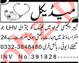 Lady Doctor & LHV Jobs 2021 in Peshawar 2021 Job Advertisement Pakistan