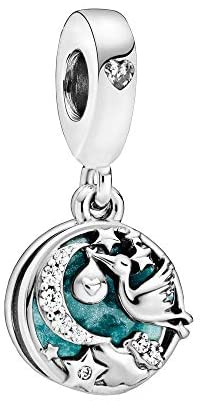 Pandora Women Sterling Silver Other Form Cubic Zirconia Charm - 798895C01