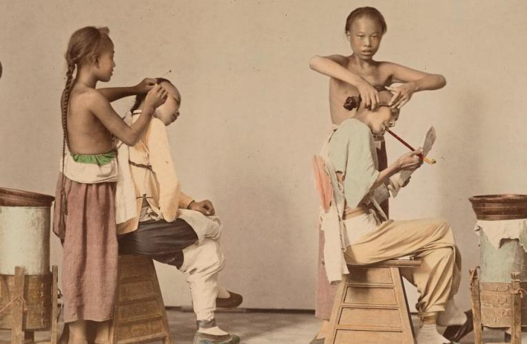 Rare 19th-century images show China at the dawn of photography