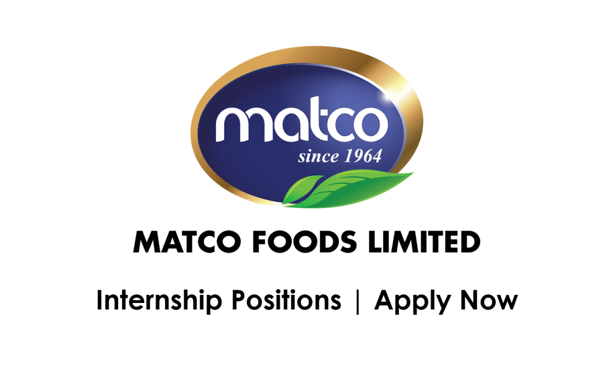 Matco Foods Ltd Internship May 2021