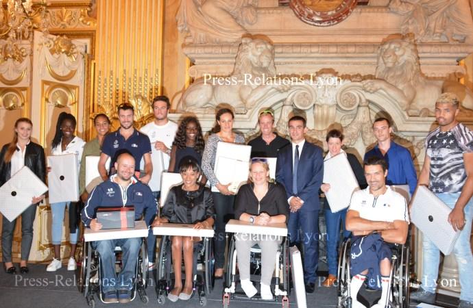 Athlètes Lyonnais ayant participé   aux JO et Paralympiques de RIO 2016