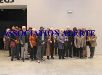 Musée confluence : les abonnés seniors de ALERTE l'ont visité