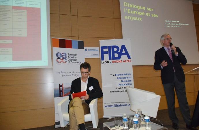 Retour en images sur la conférence – Dialogue sur l'Europe et ses Enjeux
