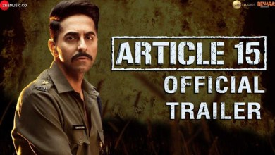 Article 15 Trailer Review