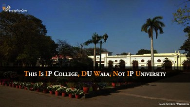 This Is IP College, DU Wala, Not IP University