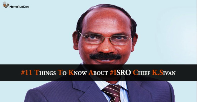 #11 things to know about #ISRO Chief K.Sivan