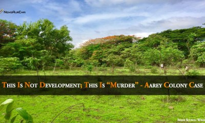 """This is not development; this is """"Murder"""" - Aarey Colony Case"""