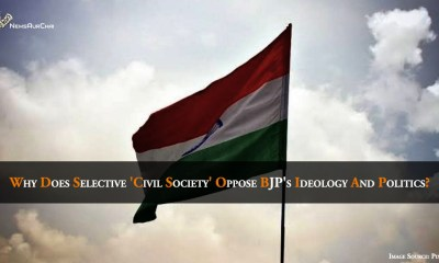 Why does selective civil society oppose BJP's ideology and politics?
