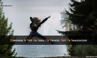 Happiness is not an ideal of reason, but of imagination