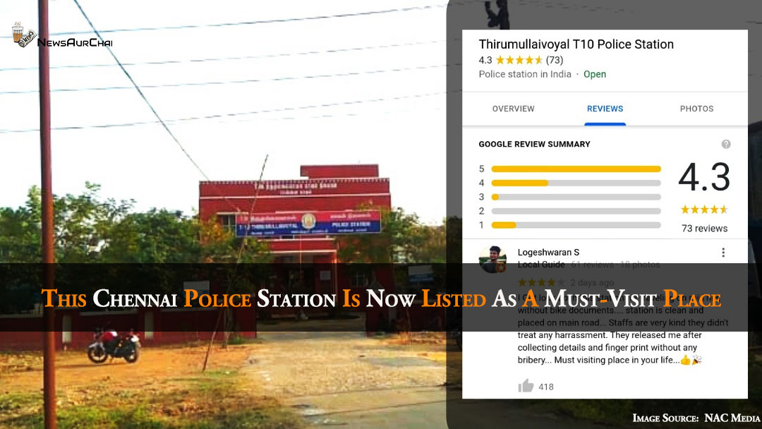 This Chennai Police Station Is Now Listed As A Must-Visit Place