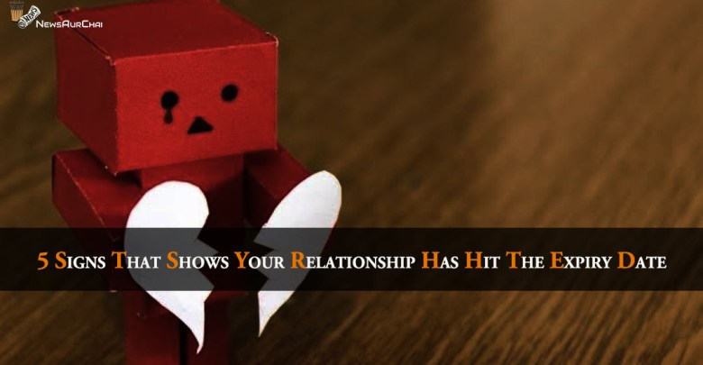 5 Signs That Shows Your Relationship Has Hit The Expiry Date