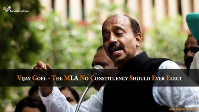 Vijay Goel - the MLA no constituency should ever Elect