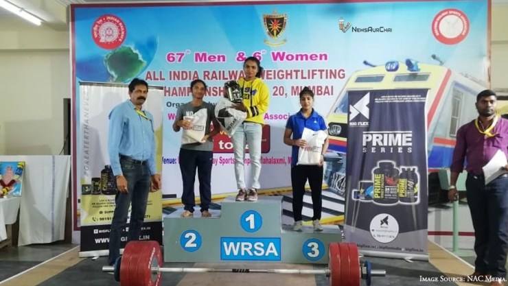 67th Men & 6th Women All India Railway Weightlifting Championship 19-20 Wraps Up With Great Pomp