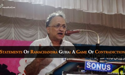 Statements Of Ramachandra Guha: A Game Of Contradiction