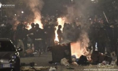 Italy Protests Turns Violent Against Second Wave Covid-19 Restrictions