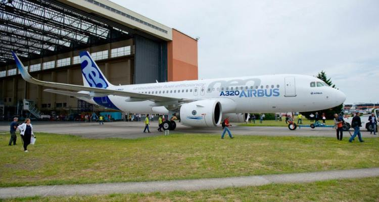 A320 neo Roll Out 8