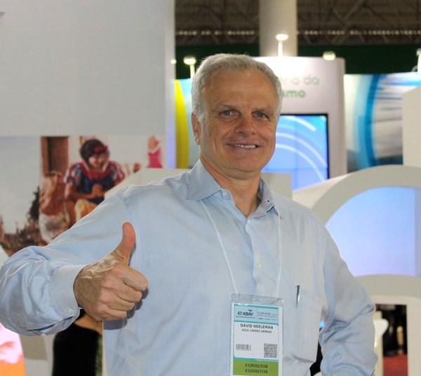 David Neeleman mostrou-se muito optimista na última feira de turismo da ABAV, na cidade de São Paulo, acontecimento que teve cobertura do Newsavia.