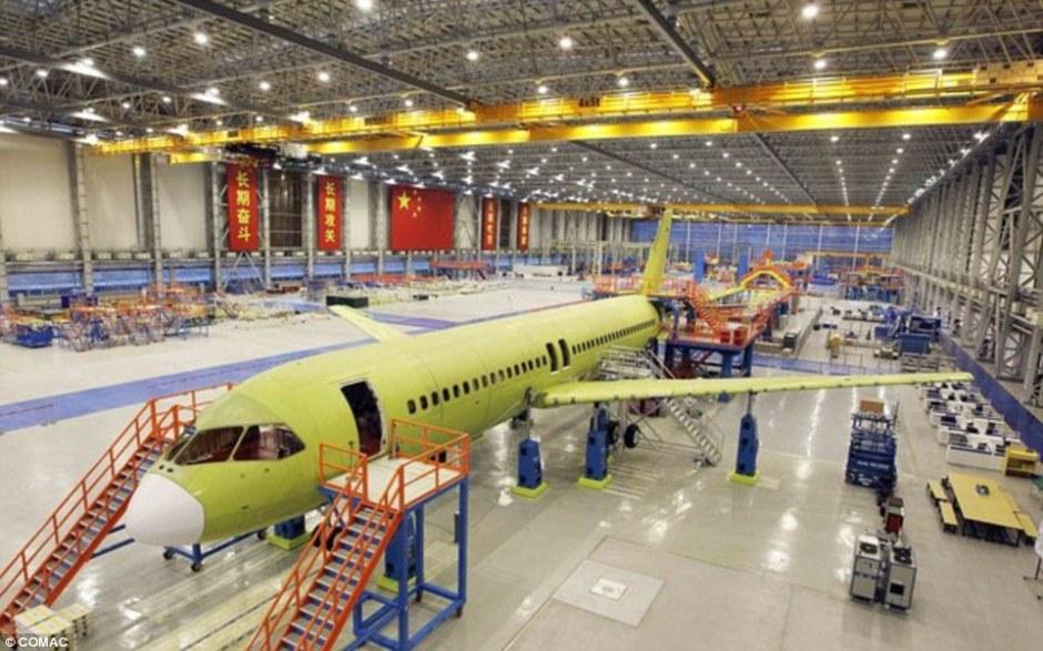 Progresso 1 protótipo C919 Commercial_Aircraft_Corporation-2