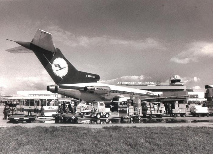 Aeroporto de Lisboa 1971