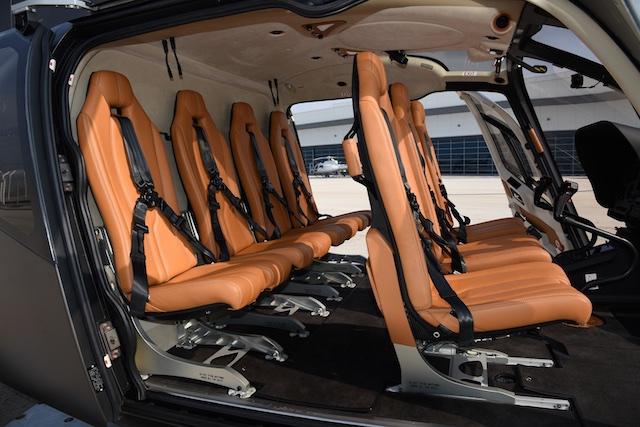 Airbus H130 - Uber - Interior 2