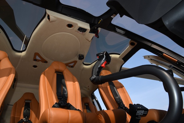 Airbus H130 - Uber - Interior