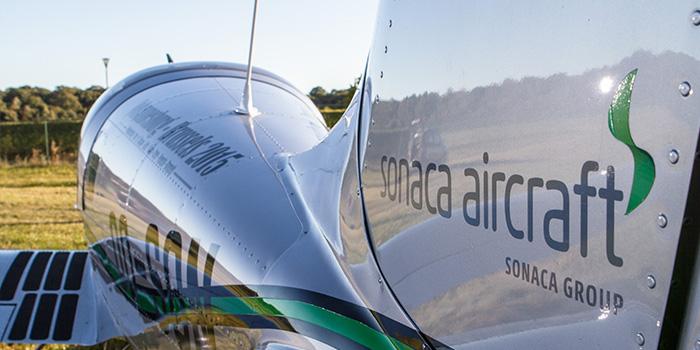 750 kg MTOW e estrutra reforçada totalmente em alumínio são apenas algumas das novidades do SONACA 200