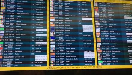 Quadro de Partidas Aeroporto Lisboa