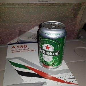 Figura 8: Bebida em A380 da Emirates