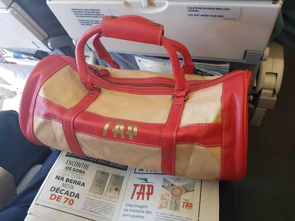 Flight Report José Luís - Mala retro com o Diário de Notícias