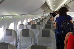 AirBaltic A220 assentos