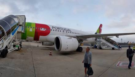 Estreia no A320NEO da TAP AIR PORTUGAL